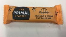 Primal Pantry Hazelnut and Cocoa – €2.65 for 45g, €58.88 per kg