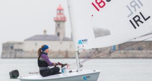 Annalise Murphy has won the Irish Sailing Association selection for Rio after a three event trial that concluded in Mexico on Wednesday. Photograph: Naoise Culhane.