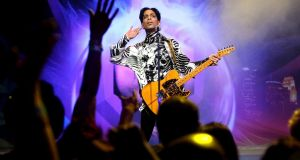 Prince performing in March  2009 in Los Angeles, California. Photograph: Kristian Dowling/Getty Images for Lotusflow3r.com