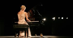 Going out on a high note: pianist Gesa Luecker plays a Wilhelm Schimmel