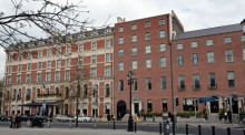 How the Shelbourne Hotel facade was restored