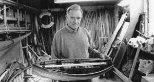 Derek Paine, Greystones boat builder and collector of photographs. Photograph: Jack Clarke