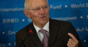 """Sometimes there is a contradiction between transparency and efficiency,"" German finance minister Wolfgang  Schäuble said at a meeting of EU finance ministers in Amsterdam on Saturday. ""We have to be cautious about lining someone up to be pilloried publicly."""