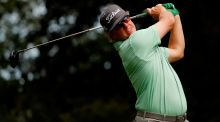 Charley Hoffman of the United States took the Valero Texas Open title. Photo: Getty Images