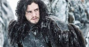 Kit Harington's character Jon Snow was killed in 'Game of Thrones' season 5 finale. Photograph: Reuters