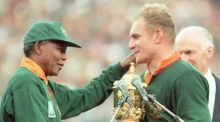 South Africa won the Rugby World Cup when they last hosted it in 1995, but may be prevented from doing so again in 2023. Photograph: Getty