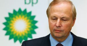 BP's chief executive Bob Dudley:  BP shareholders voted on April 14 to oppose his  $20 million pay package for 2015, the rare revolt reflecting outrage after the British oil and gas company recorded its biggest annual loss. Photograph: REUTERS/Suzanne Plunkett/Files
