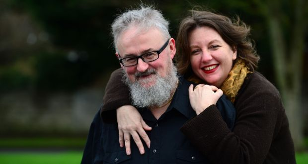 Carrie Twomey and her husband Anthony McIntyre. Photograph: Dara Mac Dónaill / The Irish Times