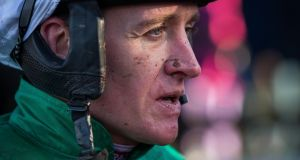 "Barry Geraghty: ""Vautour is a very good horse and him coming down in distance is the only hope we have."" Photograph: INPHO/Ryan Byrne"