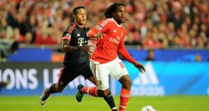 Renato Sanches is reportedly on the brink of a move to Manchester United from Benfica. Photograph: Getty