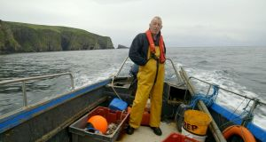 Still from Atlantic: Jerry Early, an Arranmore salmon fisherman whose livelihood was destroyed by a change in the law