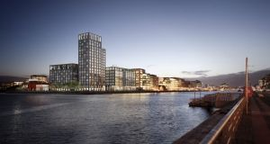 Capital Dock: includes 79m apartment tower.
