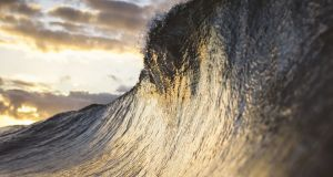 In January 2014, a rogue wave higher than 29m was measured off Killard Point in Co Clare in water 40m deep. photograph: thinkstock