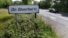An Gaeltacht sign near Claregalway, Co Galway. File photograph: Joe O'Shaughnessy
