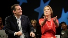 Crooning for Cruz: Carly Fiorina breaks into song