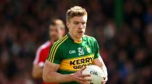 Tommy Walsh is to quit the Kerry football panel, according to reports. Photograph: Inpho