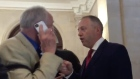 'You Nazi apologist!': Labour MP confronts Ken Livingstone