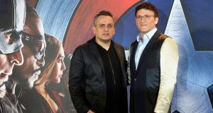Directors Joe Russo and Anthony Russo at a photocall for 'Captain America: Civil War' in London. Photograph: Hannah McKay/EPA