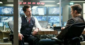 Just the two of us: Robert Downey Jr and Chris Evans in Captain America: Civil War.