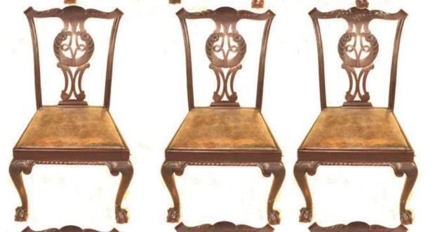 chippendale dining chairs. There Were 60 Styles Of Chair, From Rococo And Gothic To Chinese- Inspired, Chippendale Dining Chairs
