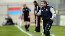 "Davy Fitzgerald: ""It will be hard enough to get scores because of the way they are in that middle third. It will be tough."" Photograph: Ryan Byrne/Inpho"