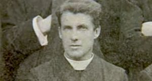 Irish Jesuit priest Fr John Sullivan. Pope Francis has approved his beatification. Photograph: Jesuits in Ireland website
