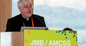 Fr Paul Connell, president of the Joint Managerial Body and the Association of Management of Catholic Secondary Schools: he said Catholic schools have been playing a vital role in helping young people grow in faith. Photograph: Sally MacMonagle