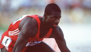 Ben Johnson: faced disaster when his career ended in disgrace. Photograph: Billy Stickland/Inpho