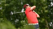 Chile's Felipe Aguila leads the China Open. Photograph: Afp