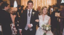 Our Wedding Story: We met at French College