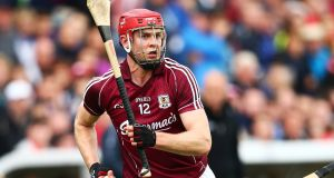 "Jonathan Glynn in action for Galway last summer. ""Lads might talk down New York but to be honest the talent here is unbelievable."" Photograph: Cathal Noonan/Inpho"