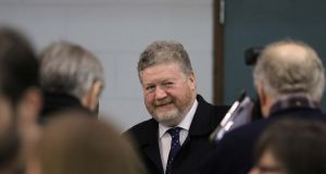 James Reilly: approached by some in Fine Gael about the possibility of filling a Seanad seat. Photograph: Nick Bradshaw