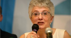 Katherine Zappone TD has already voted to support Enda Kenny as Taoiseach. Photograph: Dara Mac Dónaill