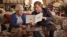 Prince Harry and the Queen in funny twitter video exchange with President Obama