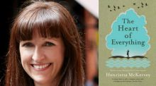 The Heart of Everything by Henrietta McKervey is May's Irish Times Book Club pick