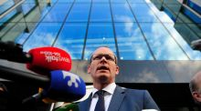 Fine Gael Minister Simon Coveney said he is hopeful that the new government will be formed by Thursday. Photograph: Aidan Crawley/The Irish Times