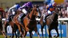 Ryan Moore riding Minding to  win The Qipco 1000 Guineas Stakes at Newmarket. Photograph: Alan Crowhurst/Getty Images