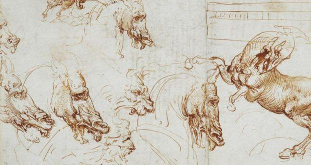 Leonardo D Exhibition : Leonardo da vinci drawings to go on display in dublin