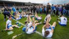 Waterford players warm down after playing extra-time in drawing against Clare in Allianz Hurling League Division 1 final at Semple Stadium. Photograph: Ryan Byrne/Inpho.