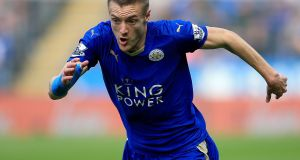 Leicester forward Jamie Vardy has been voted the 2016 Footballer of the Year by the Football Writers' Association. Photo: Nick Potts/PA Wire.