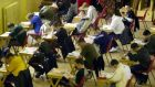 A total of 10 per cent of the final junior cycle will be based on a written assessment task – which is linked to the second classroom-based assessment. Photograph: The Irish Times