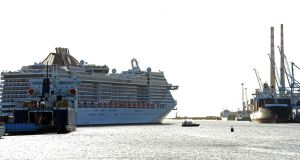The MSC Splendida is the 11th longest cruise ship in the world. Photograph: Eric Luke/The Irish Times