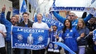 Leicester fans celebrate unlikeliest of Premier League wins