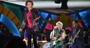 A Rolling Stones concert in Havana, Cuba in March. They are set to join five other classic acts at the Desert Trip festival in October. Photograph: Yamil Lage/AFP/Getty Images