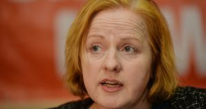 "Ruth Coppinger: Tax breaks for house building will come with a ""social cost"". Photograph: Alan Betson"