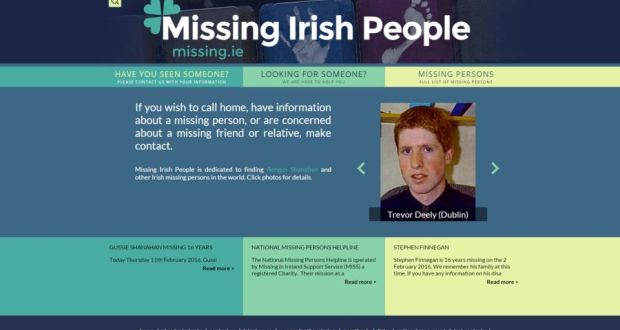 Missing Persons Out Of Sight But Not Out Of Mind