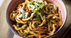 Donal Skehan: Hot and spicy peanut butter noodles