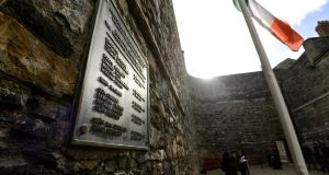 Stonebreakers Yard at Kilmainham Gaol where 1916 Rising leaders were exectued. Photograph: Cyril Byrne/The Irish Times