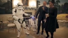 Obamas dance with stormtroopers to celebrate Star Wars Day