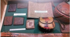 Leatherwork by republican prisoners